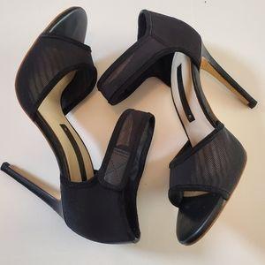 Zara Women open Toe ankle strap heel